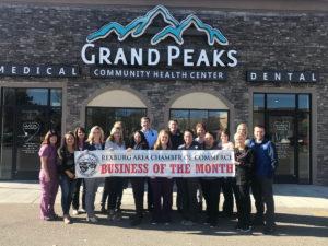 Grand Peaks Business of the month - rexburg wellness center