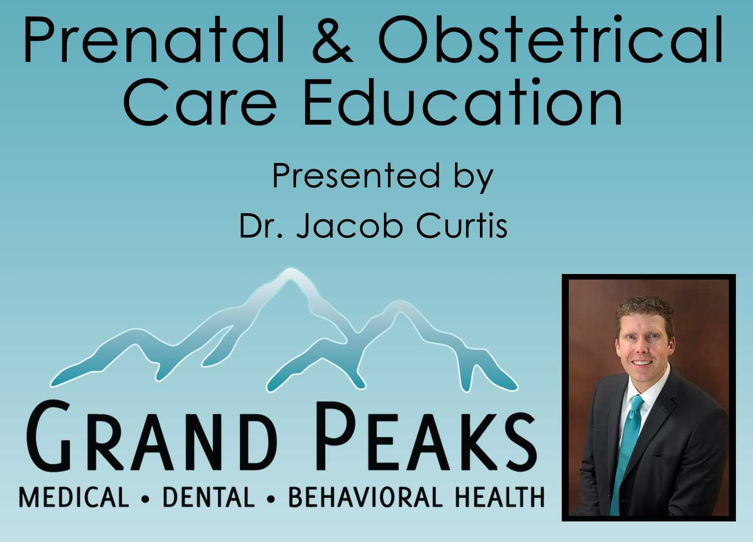 Prenatal Care & Obstetrical Care by Dr. Jacob Curtis