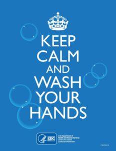 Keep Calm And Wash Your Hands - rexburg wellness center
