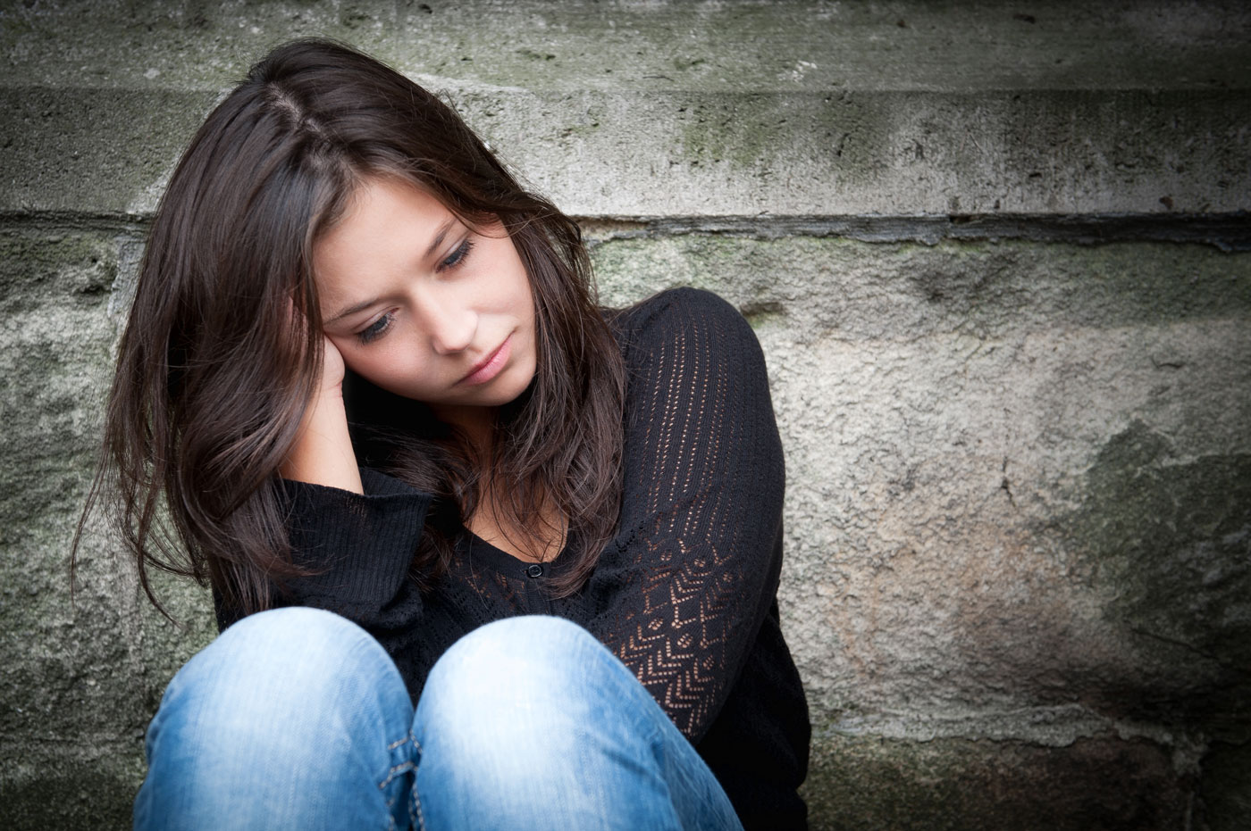 Depressed Woman - rexburg wellness center